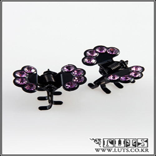 FAN CLAWCLIP PIN SET (Purple)