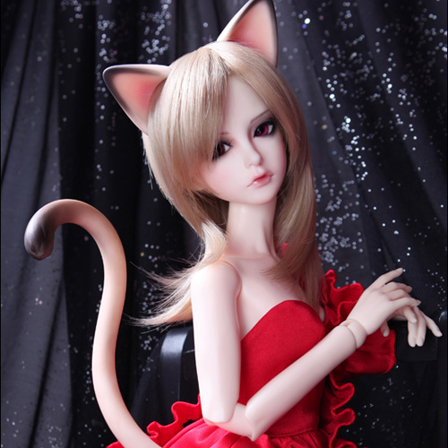 Senior Delf Kitty Ears and Tail set (Limited)