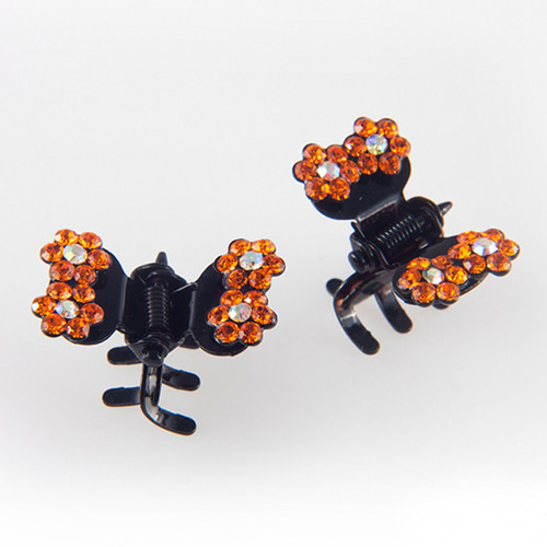 CUBIX TWIN CLAWCLIP PIN SET(ORANGE)