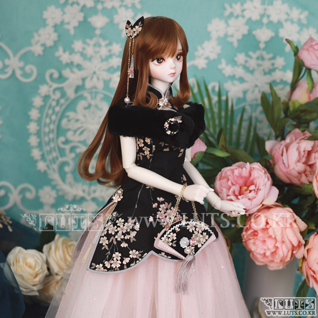 SDF China Dress set (Black)