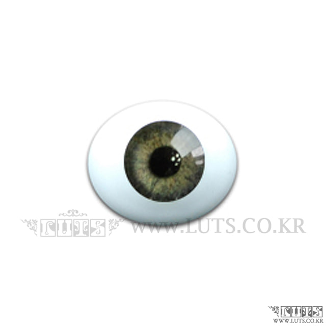 14MM Real Type Glass eyes Green
