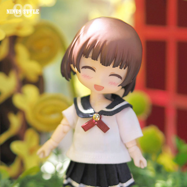 [OB11] GIRL Sailor nine school (Navy)