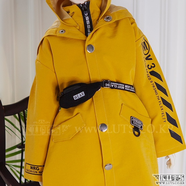 SDF65 Homme Safari Jacket (Yellow)