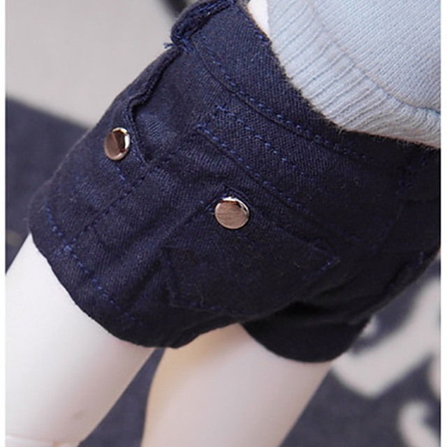 [YoSD] Cotton shorts(Navy)