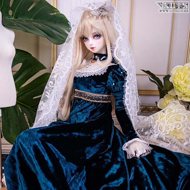 SDF Graceful Velvet Set (Blue)