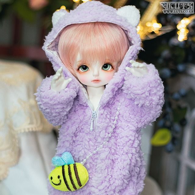 HDF Pastel Honeybear Set (Violet)