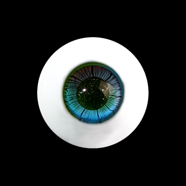 16MM S-GLASS EYES-NO.037