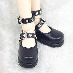 DGS-09 MARY JANE SHOES For Girl (Black)