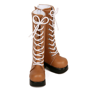 DGS-07 LONG BOOTS For Girl (Ocher)