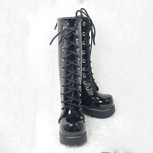 DGS-07 LONG BOOTS For Girl (S.Black)