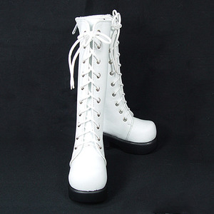 DGS-07 LONG BOOTS For Girl (White)