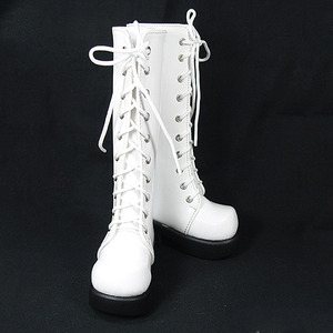 DGS-07 LONG BOOTS For Girl (S.White)