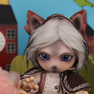 Zuzu Delf WOLFFY - THE WOLF AND THE SEVEN LITTLE GOATS Limited