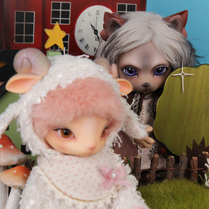 Zuzu Delf - THE WOLF AND THE SEVEN LITTLE GOATS Limited