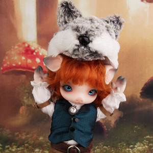 Zuzu Delf OINK - Wolf Red riding hood Limited (For I Doll 40)