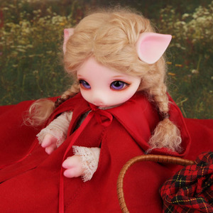 Zuzu Delf GGUL - Red riding hood Limited (For I Doll 40)