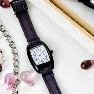 FASHION WATCH (Purple WHITE)