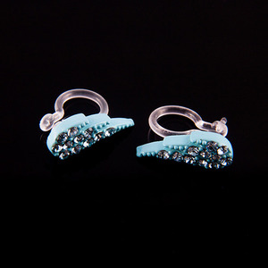 Ear Cuff Wing Pastel Set (Blue)