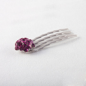 Strawberry COMB Hair PIN(Deep Pink)