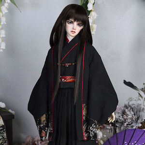 SDF65 Two-tone Hakama Set