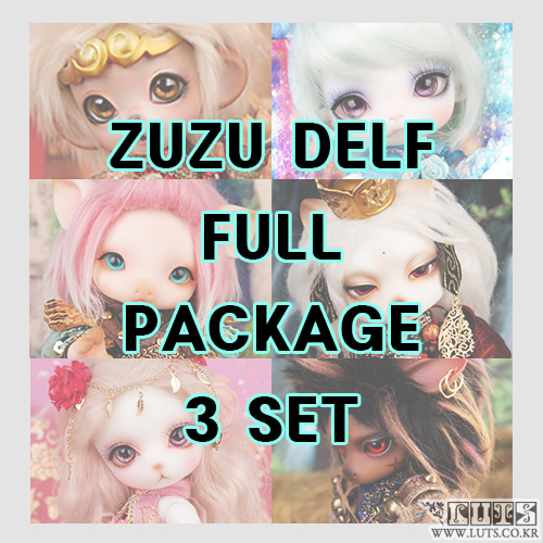 Zuzu Delf Journey To The West FULL PACKAGE 3 SET Limited
