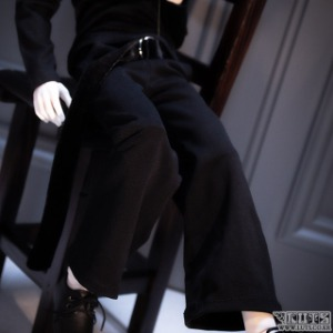 MDF Wide Pants (Black)