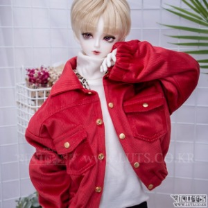 SDF65 Corduroy Tiger Jacket (Red)