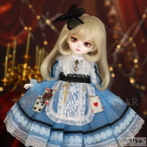 HDF Wonderland Blue set