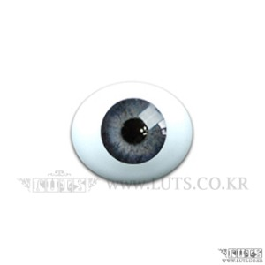 14MM Real Type Glass eyes Light Gray