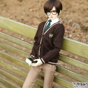 SDF65 NINE School Boy set (Brown)