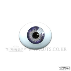 12MM Real Type Glass Eyes Dark Violet