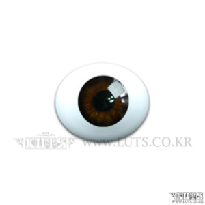 10MM Real Type Glass Eyes Brown