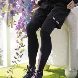 [Preorder] [ID75]Leggings shorts(Black)