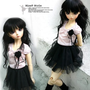 [MSDG] Ballerina skirt(black)