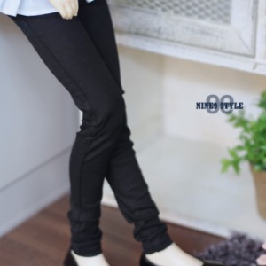 [SDG]GIRL Color skinny pants(Black)