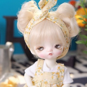 [LATI-Y] Flower layered one-piece(Yellow)
