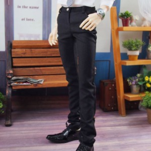 [SDB]Basic slacks pants(Black)