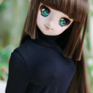 [SDG]GIRL Simple turtleneck(Balck)