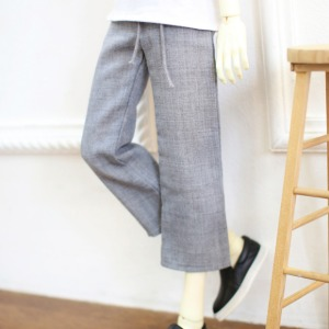 [SDB]Wide pants(Gray)