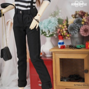 [SDG]Suspenders slacks(Black)