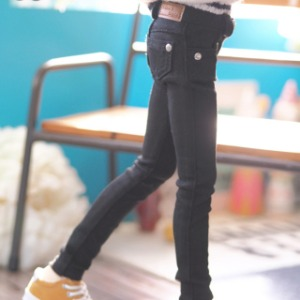 [MSD] BOY Color skinny pants(Black)