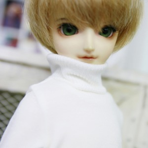 [MSD]BOY Simple turtleneck(Ivory)