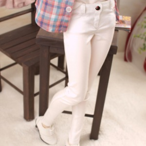 [SDG]GIRL Color skinny pants(White)