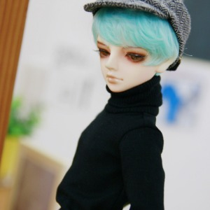 [MSD]BOY Simple turtleneck(Black)