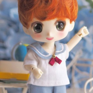 [LATI-Y]BOY Sailor nine school (Sky blue)