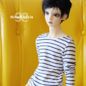 [SDB]Long sleeves striped T-shirt(Navy)
