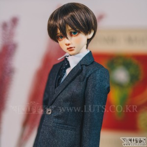 SDF65 Grey One Button Suit Set