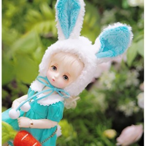 [YoSD] [Pre-Order] GY)Fluffy rabbit kindergarten(Mint)