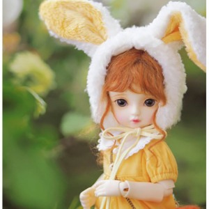 [YoSD] [Pre-Order] GY)Fluffy rabbit kindergarten(Yellow)