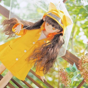 [MSD] M) Kitty Raincoat [Yellow]